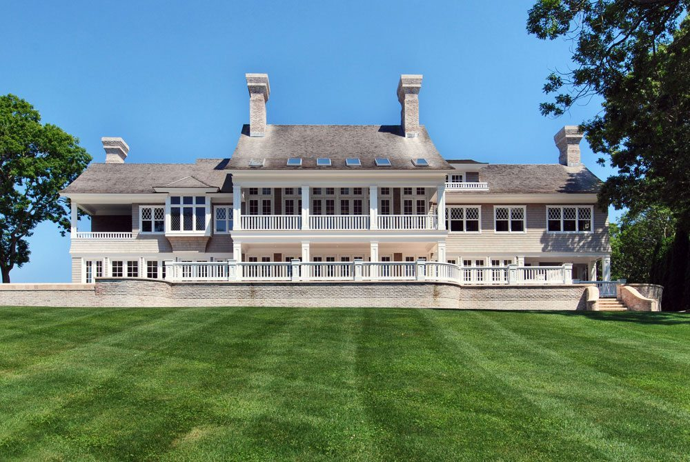 Jeffrey Colle's Luxury Hampton Home called the Pond House located on the East Hampton Waterfront